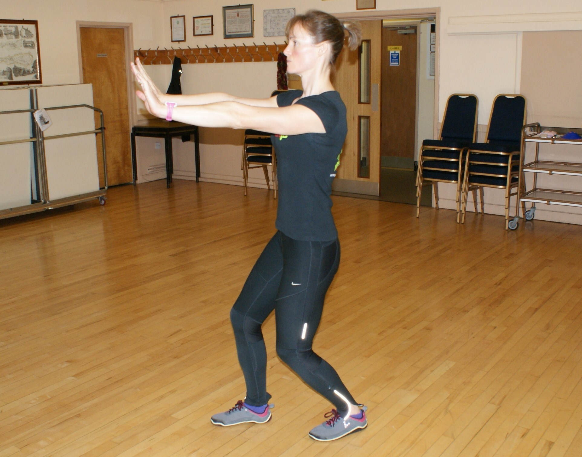 Standing Soleus Stretch